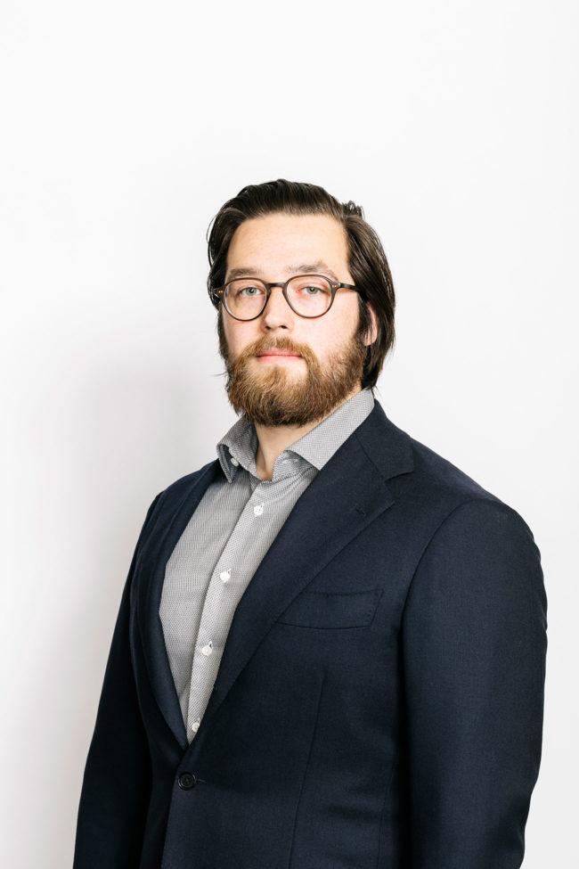 Portrait of Eric Pentland