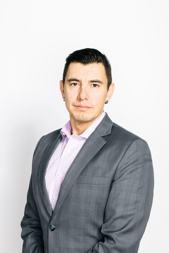 Portrait of Garry Laboucan